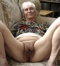 Naked Old Ladie